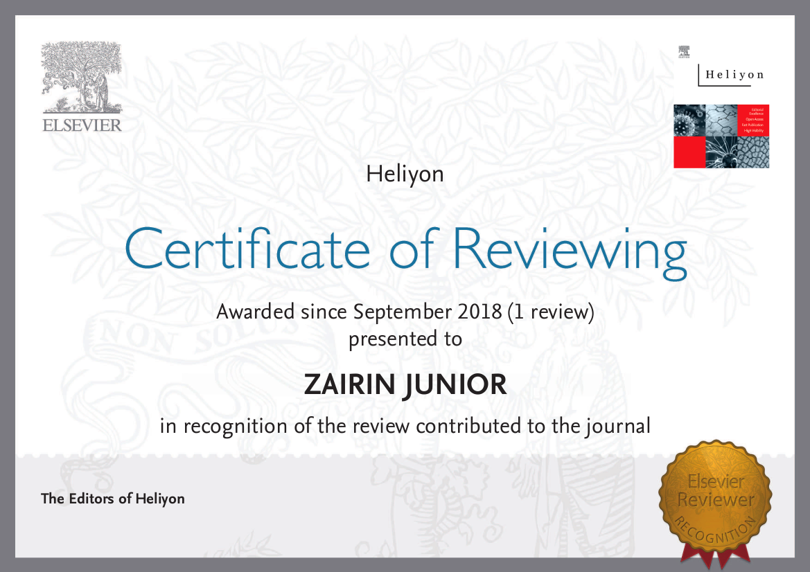 Reviewer Jurnal Internasional